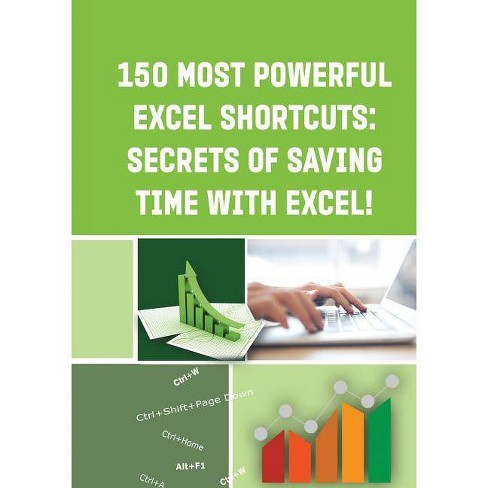150 Most Powerful Excel Shortcuts - by  Andrei Besedin (Paperback) - image 1 of 1