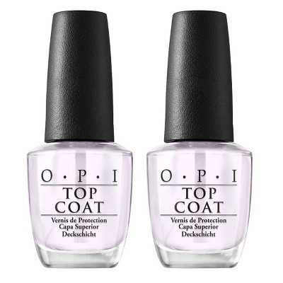 OPI Nail Polish Top Coat/Top Coat - 2pk