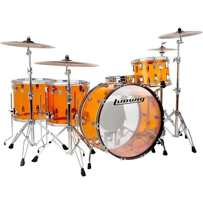 Ludwig Vistalite Zep 5-Piece Shell Pack Amber