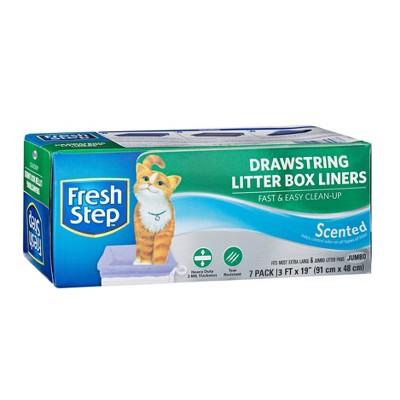 Fresh Step Cat Litter Box Liners Scented - Jumbo