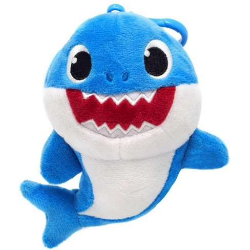 Pinkfong Mommy Shark Plush Clip On