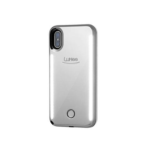 quality design f45da 2a2ec LuMee Apple iPhone XS Max Duo Case - Silver Mirror