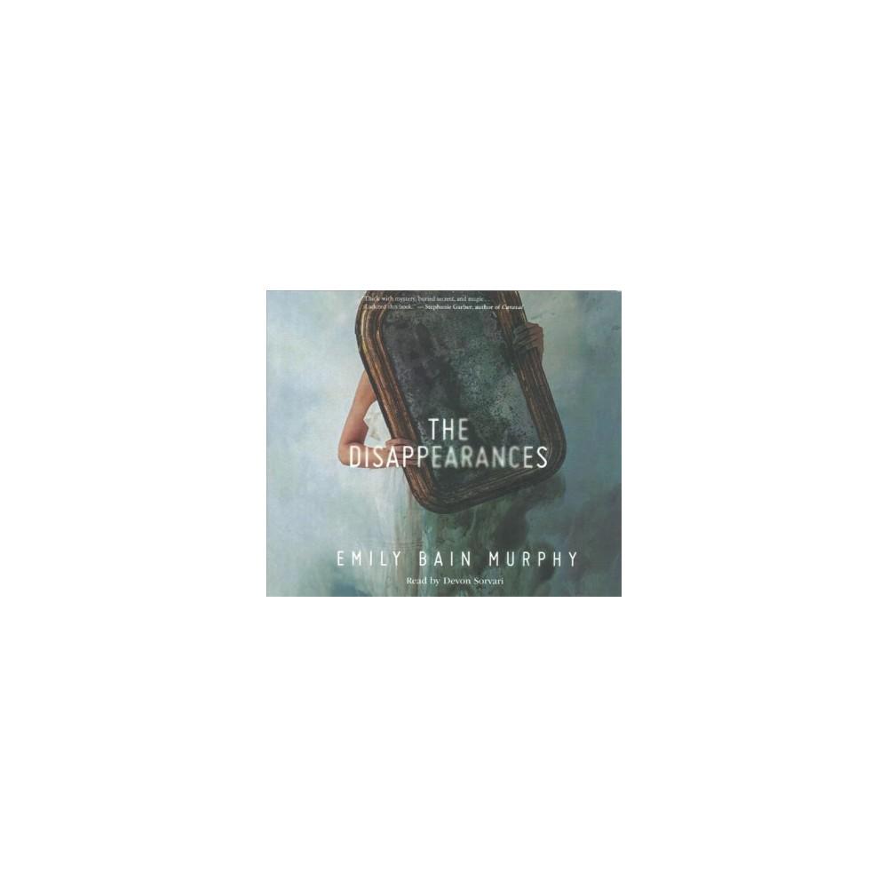 Disappearances (MP3-CD) (Emily Bain Murphy)