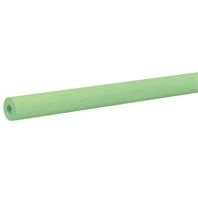 Rainbow Duo-Finish Kraft Paper Roll, 40 lb, 36 Inches x 100 Feet, Lite Green
