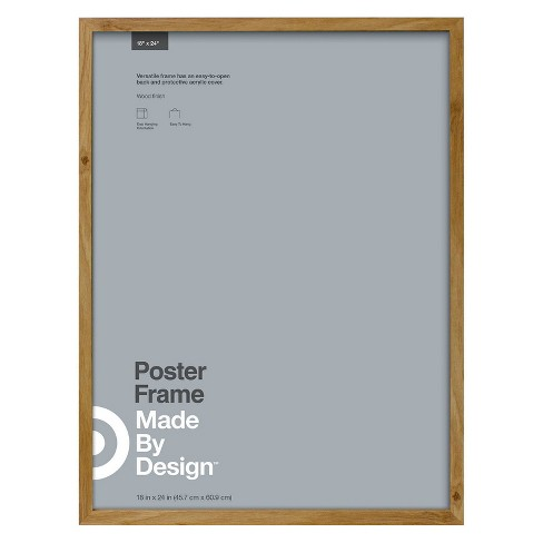 "18"" x 24"" Poster Frame Oak - Made By Design™ - image 1 of 4"