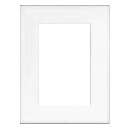 Framatic Fineline, 18x24  Aluminum Frame with a Thin Face, Matted for a 13x19  Photograph - Silver - image 1 of 1