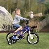 JOYSTAR Pluto Series 18-Inch Pre-Assembled Ride-On Kids Bike with Coaster Braking and Kickstand, Blue - image 3 of 4