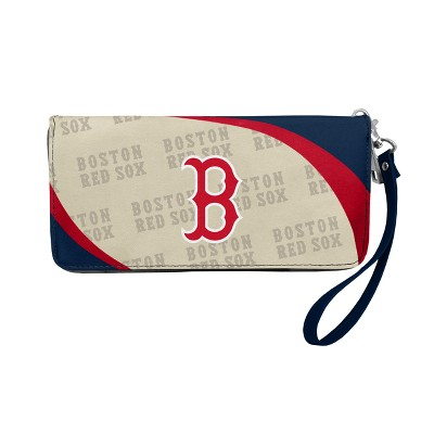 MLB Little Earth Curve Zip Organizer Wallet