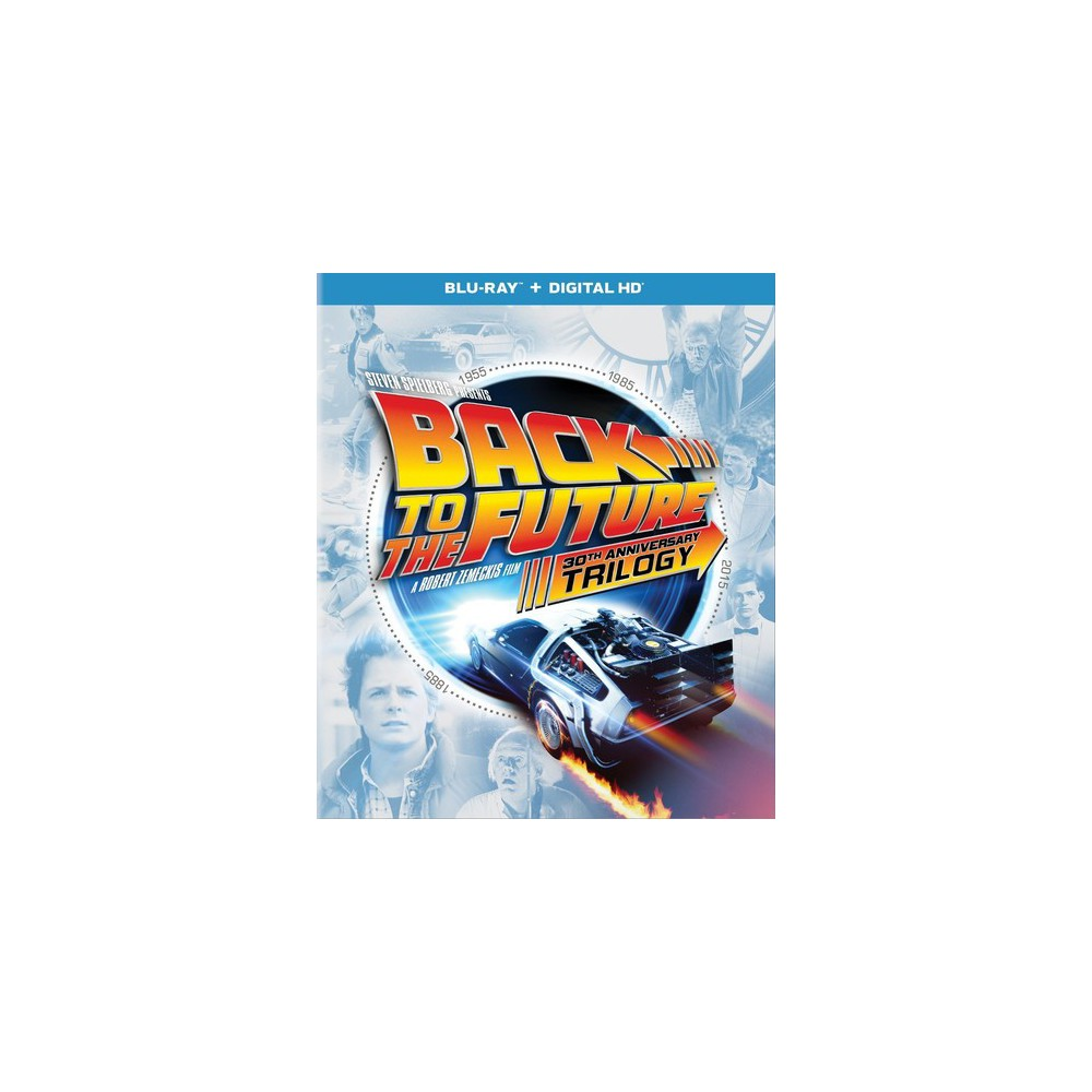 Back to the Future 30th Anniversary Trilogy (Blu-ray) - Target Exclusive