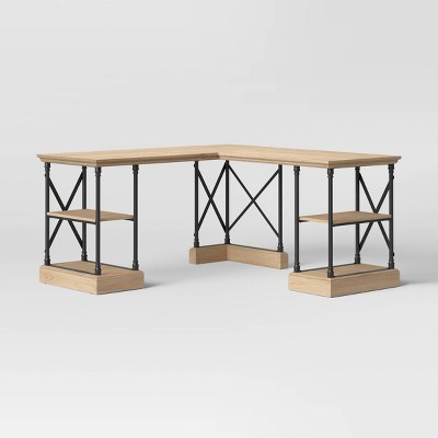 L Shaped Conway Desk - Threshold™