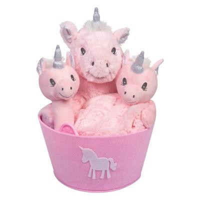 Trend Lab Plush Gift Set - Unicorn 4pc