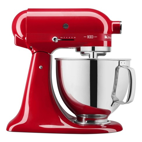 KitchenAid 100 Year Limited Edition Queen of Hearts Stand Mixer Passion Red - KSM180QHSD - image 1 of 4
