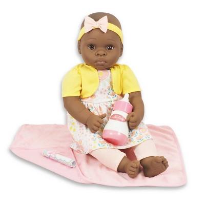 "Madame Alexander 18"" Small Wonders Sweet & Happy Baby Bedtime Set- Yellow"