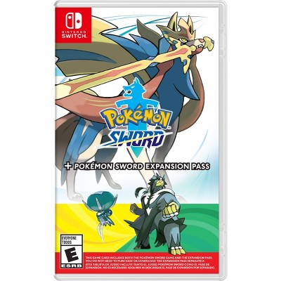 Pokemon Sword + Expansion Pass - Nintendo Switch