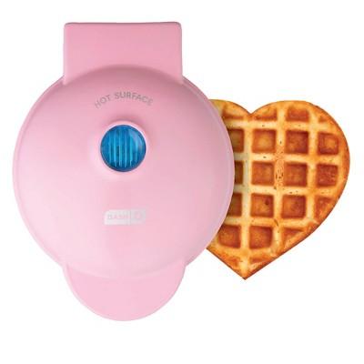 Dash Pink Heart Mini Waffle Maker