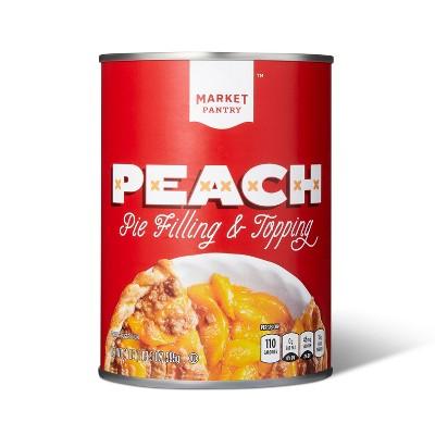 Peach Pie Filling - 21oz - Market Pantry™