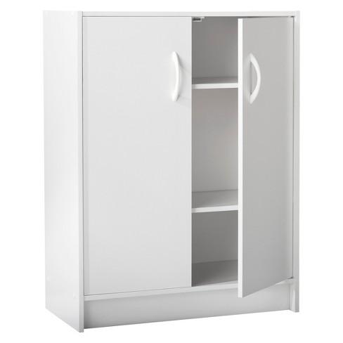 2 Door Stackable Storage Cabinet White Room Essentials Target