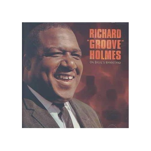 """Richard """"Groove"""" Holmes - On Basie's Bandstand (CD) - image 1 of 1"""