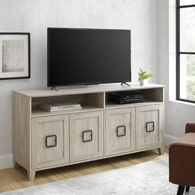 "4 Door Boho Media Center TV Stand for TVs up to 65"" - Saracina Home"