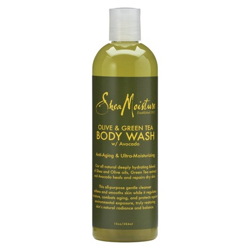 SheaMoisture Olive & Green Tea Body Wash -  13 fl oz - image 1 of 1