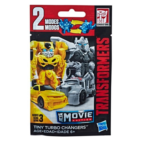 Transformers Blebee Tiny Turbo Changers Movie Edition Series 3 Blind Bag Target