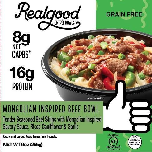 Real Good Frozen Mongolian Beef Bowl - 9oz - image 1 of 3
