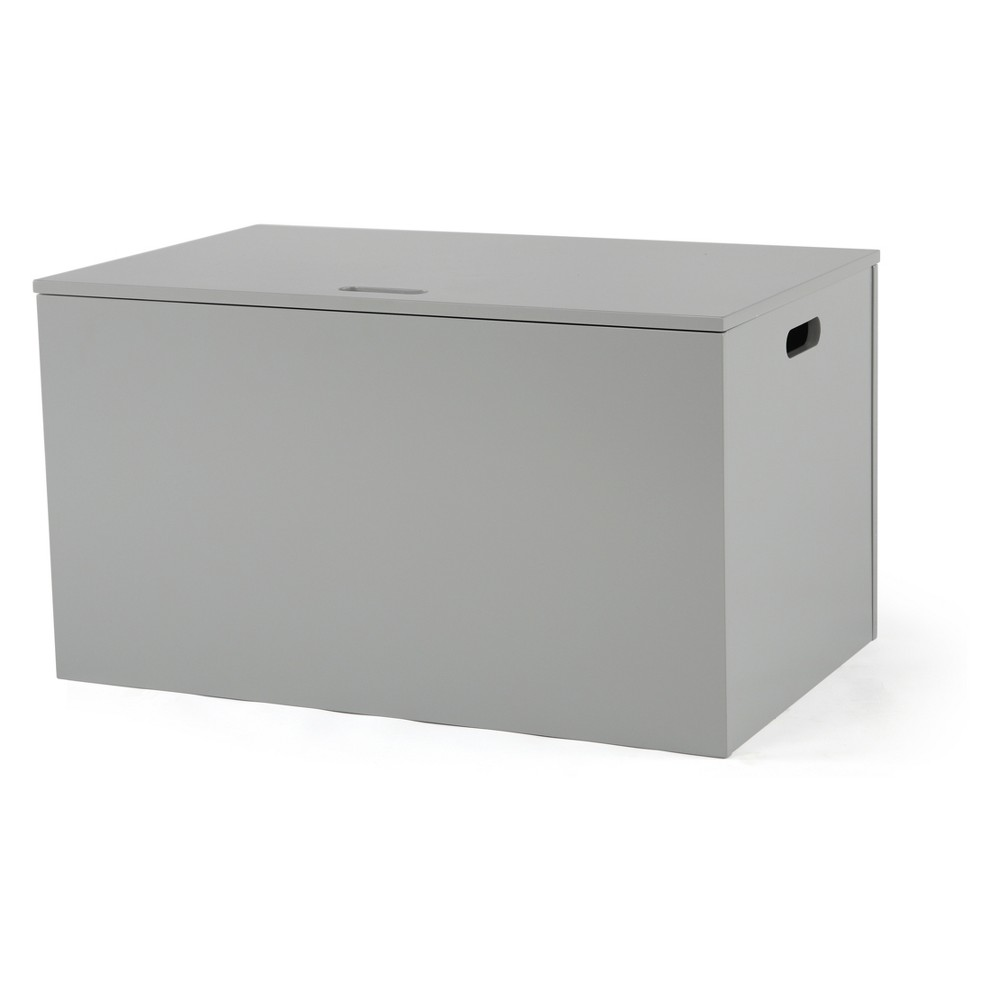 Tot Tutors Inspire Toy Chest Gray, White