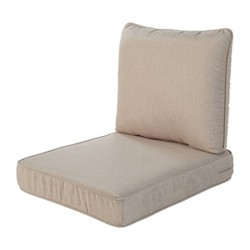 Rolston 2pc Outdoor Replacement Chair Cushion Set - Grand Basket