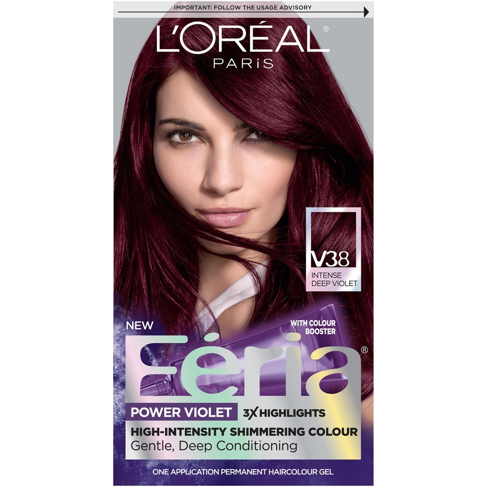 Deep Violet Hair Color Hair Care Compare Prices At Nextag