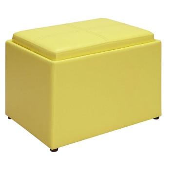Accent Storage Ottoman - Johar Furniture