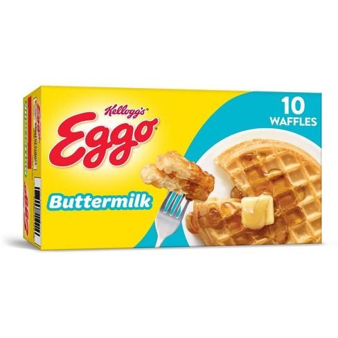 Kellogg's Eggo Buttermilk Frozen Waffles - 12.3oz/10ct - image 1 of 4