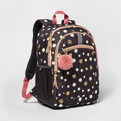 "17"" Kids' Backpack Cat Polka Dot - Cat & Jack™"