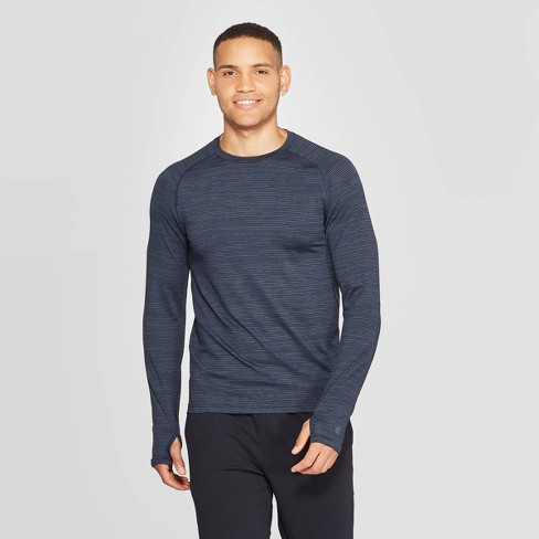 Men's Long Sleeve Nylon Tee - C9 Champion® - image 1 of 2