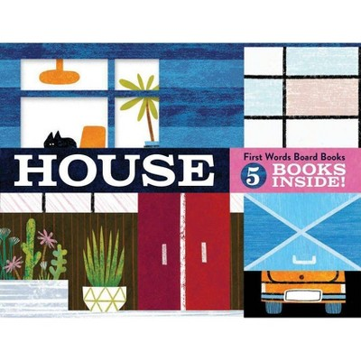House: First Words Board Books - (Board_book)