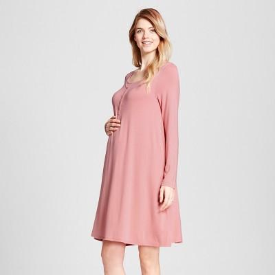 Maternity Nursing Nightgown - Isabel Maternity by Ingrid & Isabel™ Mauve M