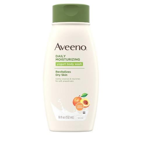 Aveeno Daily Moisturizing Yogurt Body Wash with Apricot- 18 fl oz - image 1 of 4