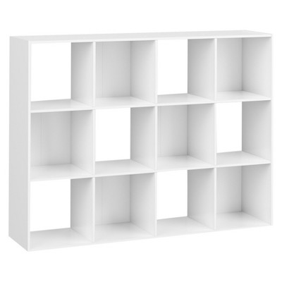 "11"" 12 Cube Organizer Shelf White - Room Essentials™"