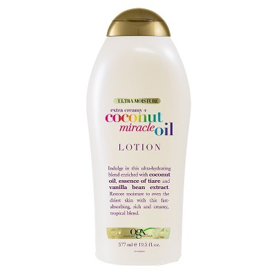 Body Lotions: OGX Coconut Miracle Oil Lotion