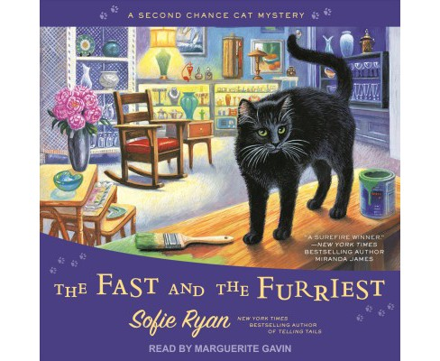 Fast and the Furriest -  (Second Chance Cat Mystery) by Sofie Ryan (MP3-CD) - image 1 of 1