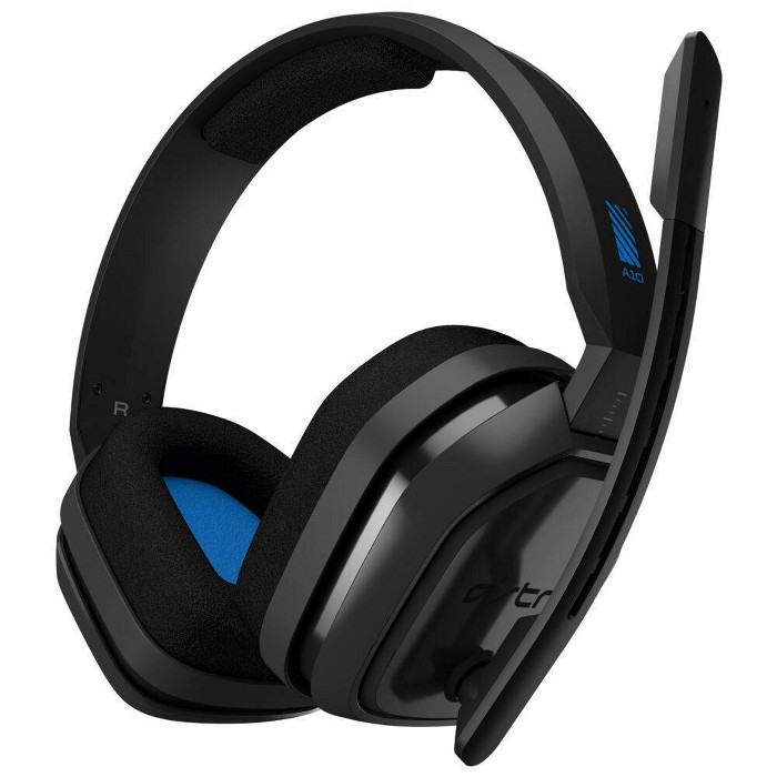 Astro Gaming A10 Wired Stereo Gaming Headset For PlayStation 5 And PlayStation 4 - Blue/Black : Target