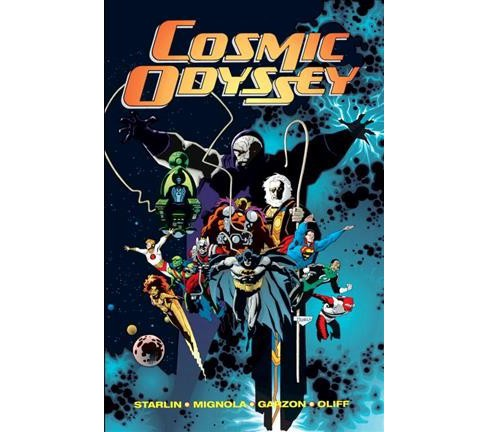 Cosmic Odyssey (Deluxe) (Hardcover) (Jim Starlin) - image 1 of 1