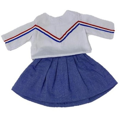 Doll Clothes Superstore Cheerleader Outfit For All 18 Inch Dolls