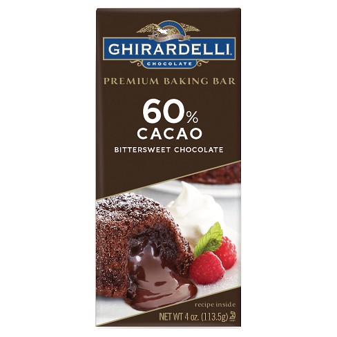 Baking Bar Ghirardelli 60% Cacao - 4oz - image 1 of 2