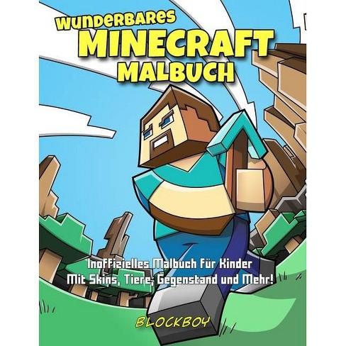 Wunderbares Minecraft-Malbuch - by  Blockboy (Paperback) - image 1 of 1