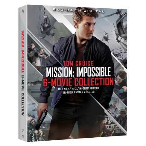 Mission: Impossible 6-Movie Collection (Blu-Ray) - image 1 of 1