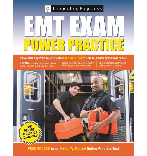 EMT Exam Power Practice (Paperback) - image 1 of 1