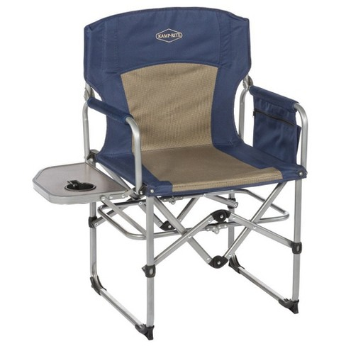 Kamp Rite Compact Folding Outdoor Camping Directors Chair W Side Table 2 Pack Target