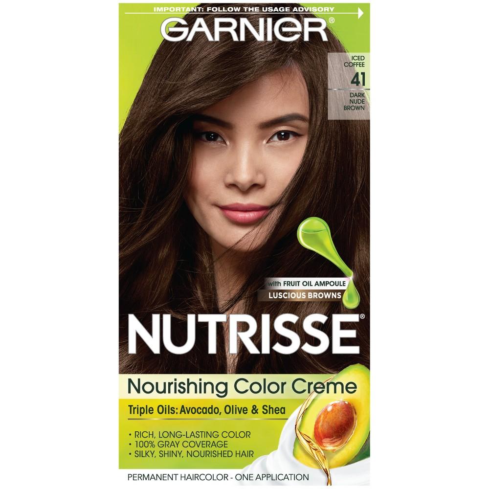 Garnier Nutrisse Nourishing Color Creme 513 Medium Nude Brown From