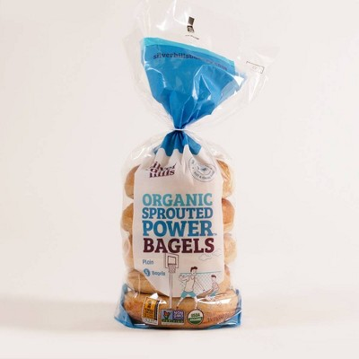 Silver Hills Bakery Organic Sprouted Power Bagels Plain - 14oz/5ct