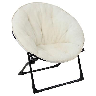 Merveilleux Fuzzy Kids Saucer Chair   Pillowfort™